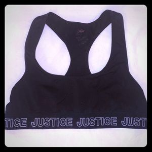 ❌SOLD❌ Justice Sports Bra, Size 28